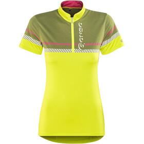 Gonso Trona Kortærmet cykeltrøje Damer pink/sort